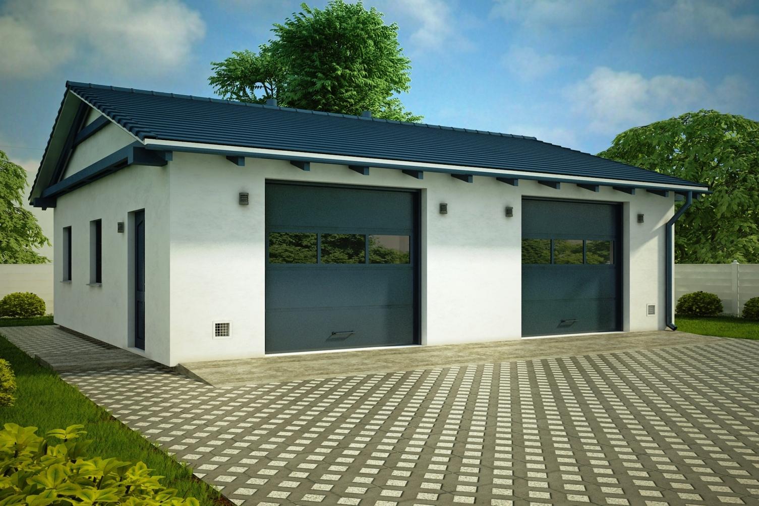 Строительство гаражей под ключ в Вологде